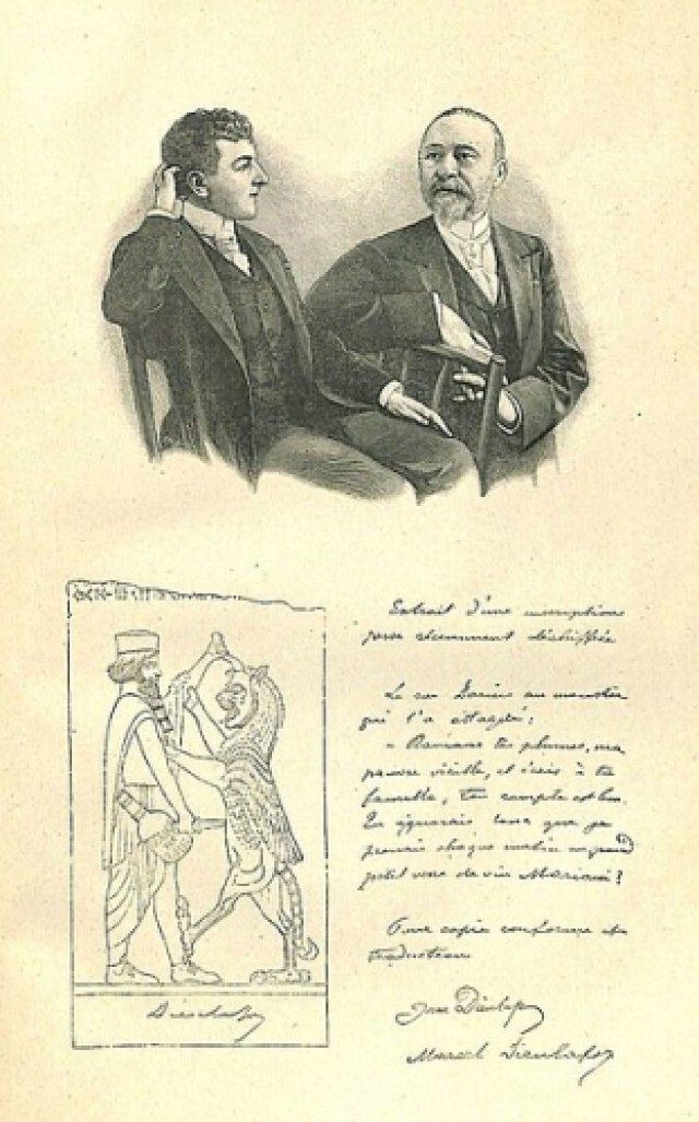 Marcel Jane Dieulafoy Persia