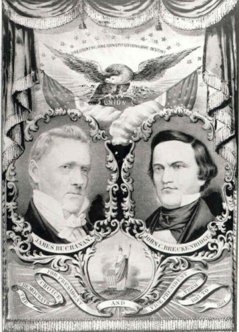 Manifesto democratico elezioni 1856