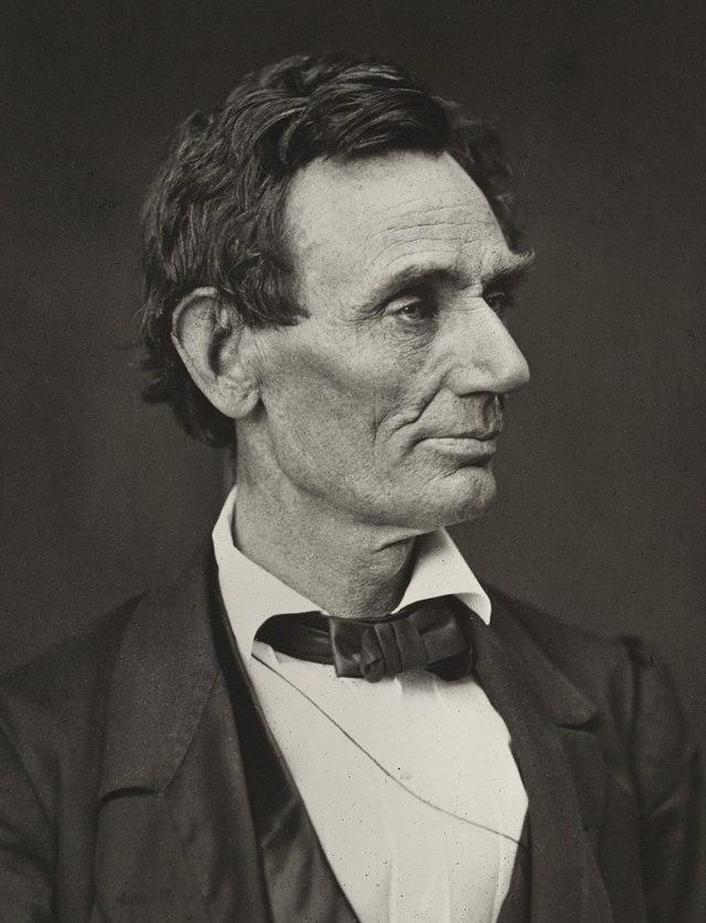 Abrahm Lincoln elezioni 1860